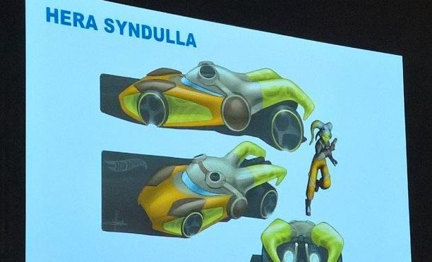 Hot Wheels Hera Syndulla T