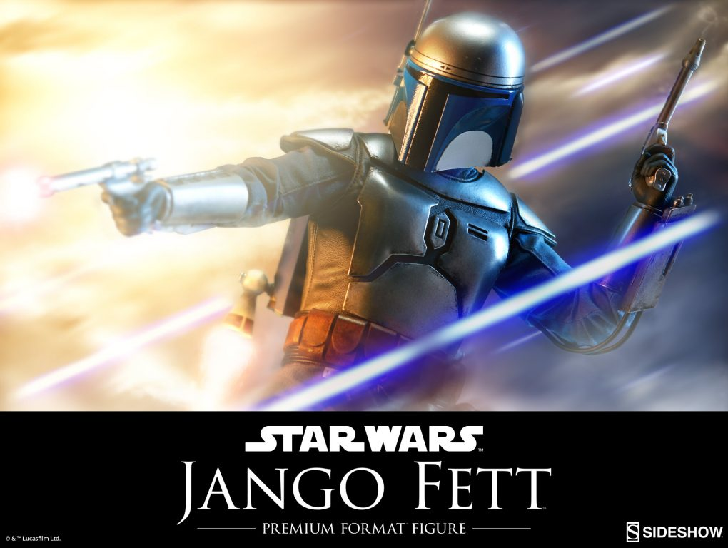 Sideshow Jango Fett Premium Format_2