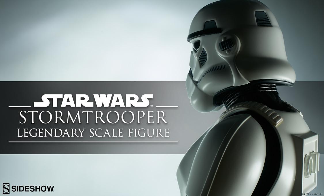 Teaser einer Sideshow Stormtrooper Legendary Scale Figure