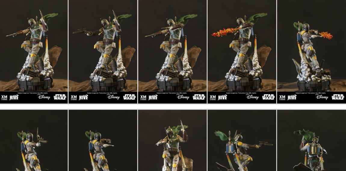 Alle Details zur XM Studios Boba Fett Statue!