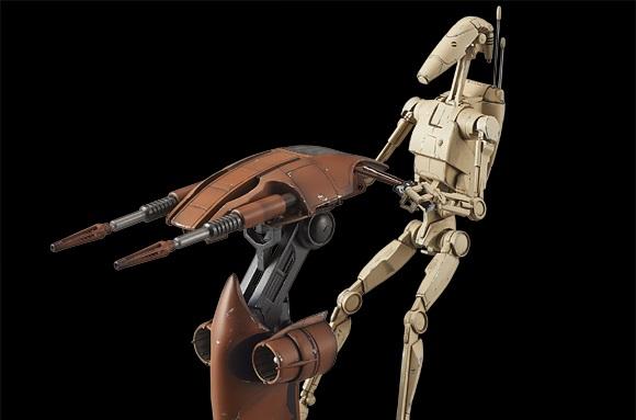 Alle Bilder und Infos zum Bandai Battle Droid & STAP