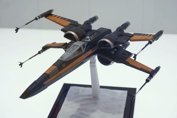 Bandai Poe's X-Wing 1/72 Model Kit angekündigt