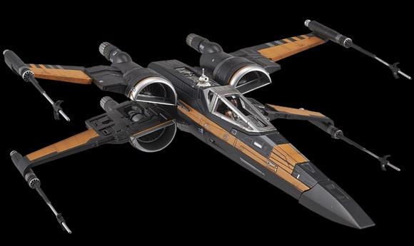 #shortcut: Bilder zum Bandai Poe's X-Wing Model Kit