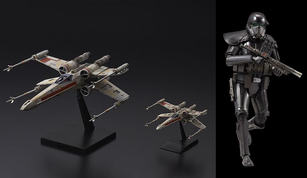 Zwei Bandai Rogue One Model Kits vorgestellt!