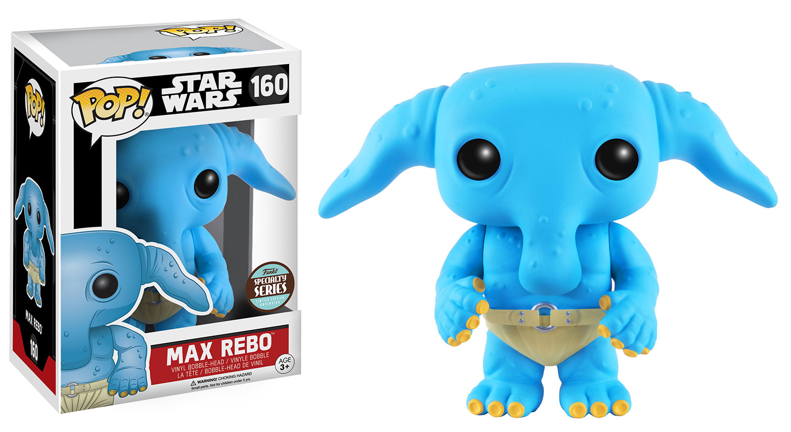 #shortcut: Funko POP Max Rebo Wackelkopf
