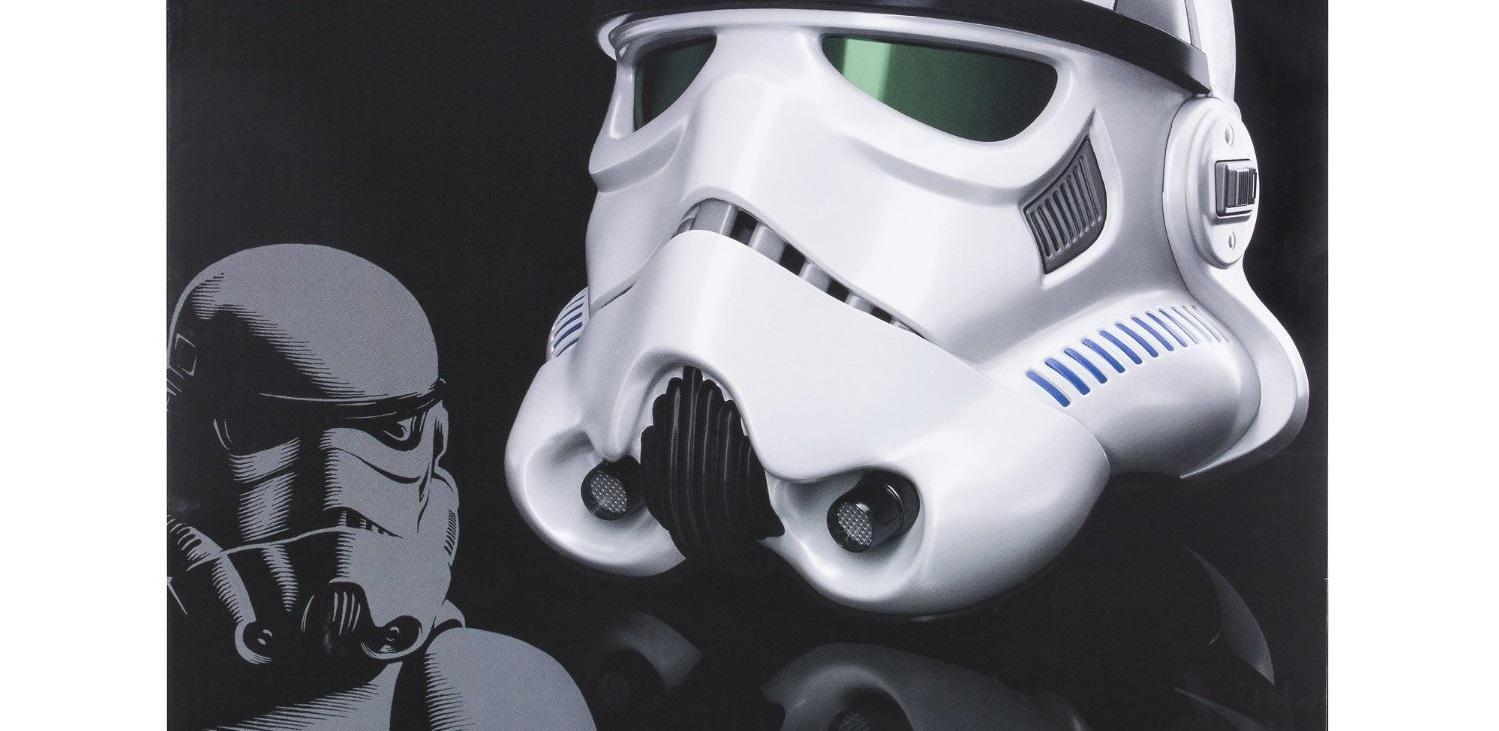 #shortcut: Neuer Hasbro Black Series Stromtrooper Helm