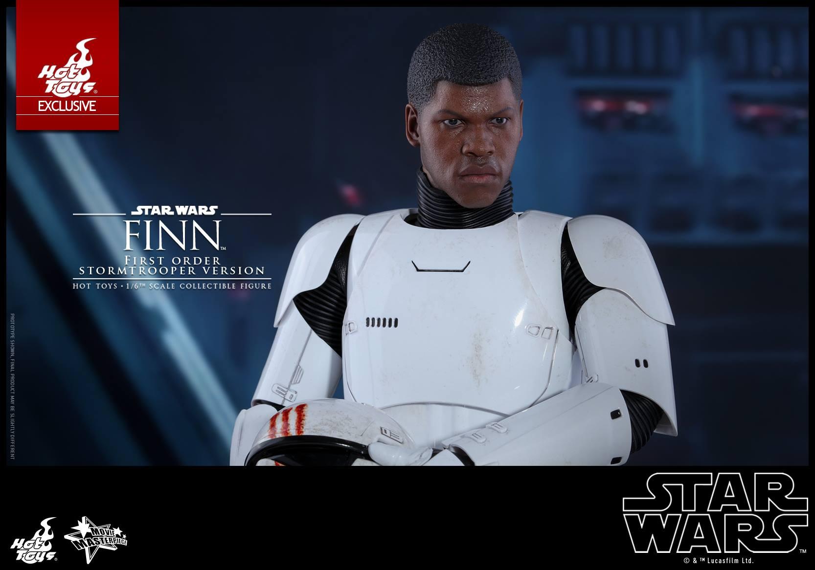 Hot Toys Finn First Order Stormtrooper Version vorgestellt