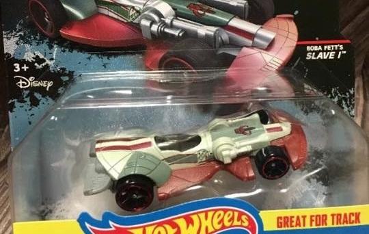 Hot Wheels Slave I Carship T