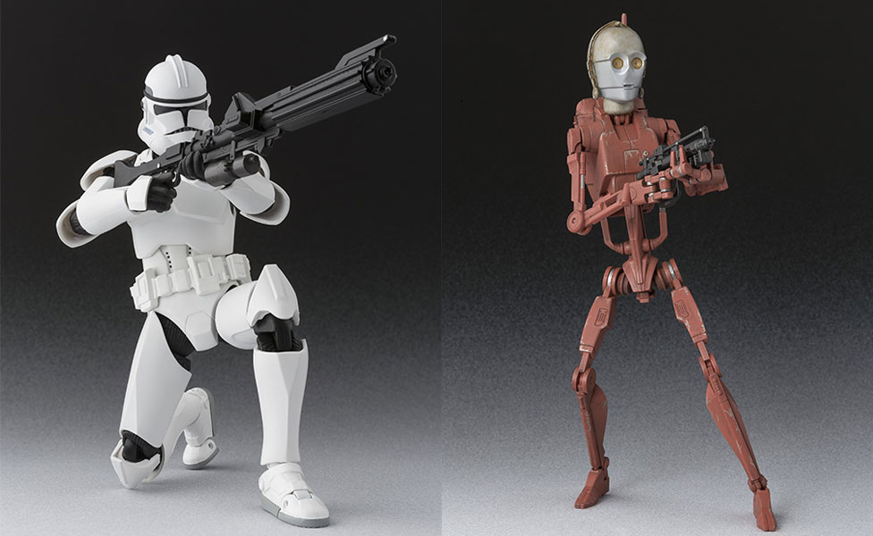 #shortcut: S.H.Figuarts Geonosis Battle Droid & Clone Trooper Phase II