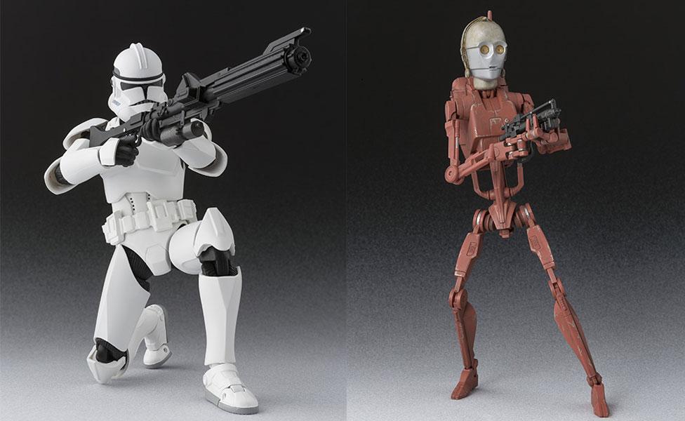 #shortcut: S.H.Figuarts Geonosis Battle Droid & Clone Trooper Phase II