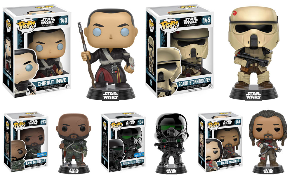 #shortcut: Noch mehr Funko POP Rogue One Bobble Heads