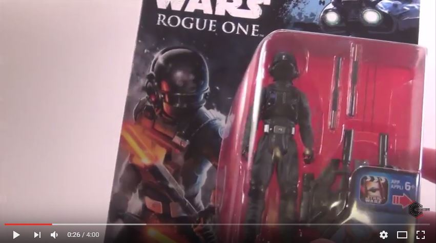 #shortcut: Review Videos zu neuen Hasbro 3.75″ Rogue One Figuren