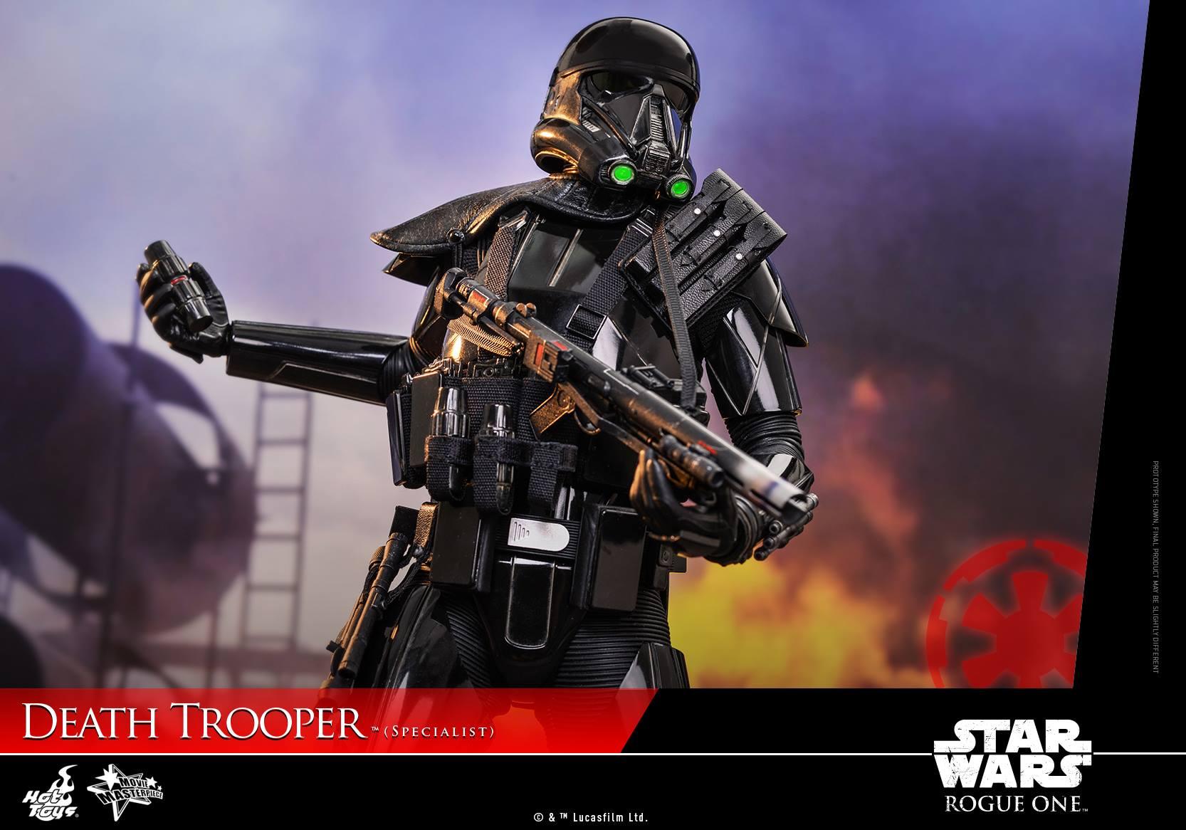 Hot Toys Death Trooper Specialist 1/6 Scale Figur veröffentlicht