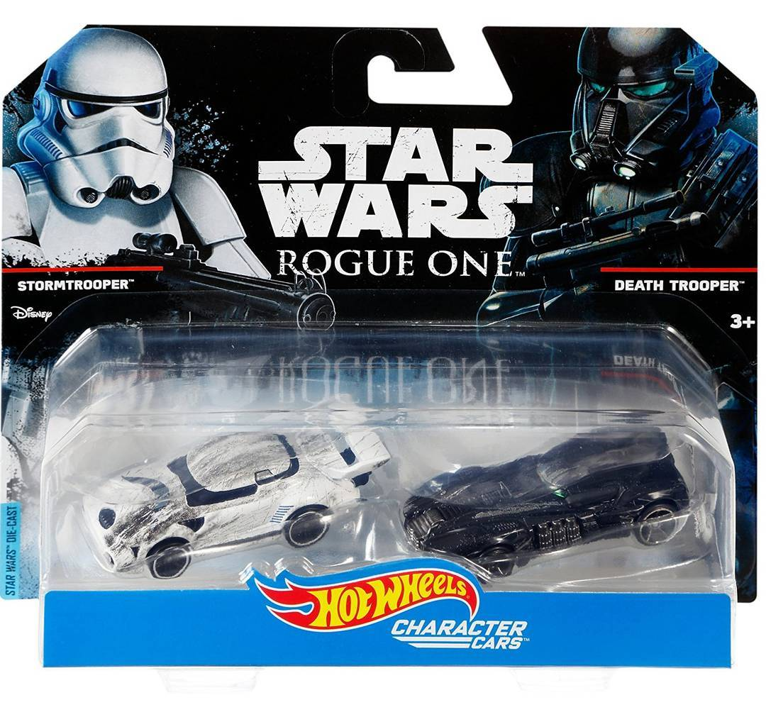 #shortcut: Zwei neue Hot Wheels Rogue One Character Cars