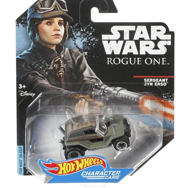 Hot Wheels Jyn Erso