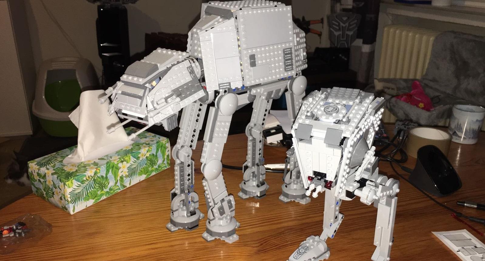 #shortcut: Live-Bilder vom neuen LEGO Star Wars 75153 AT-ST