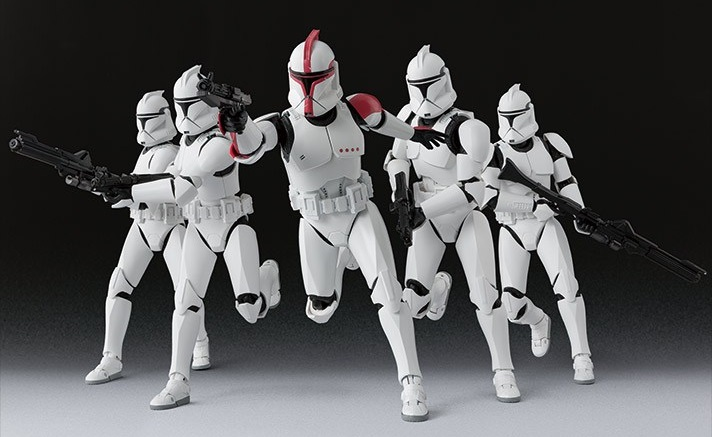 Tamashii Nations S.H.Figuarts Clone Trooper Captain vorgestellt