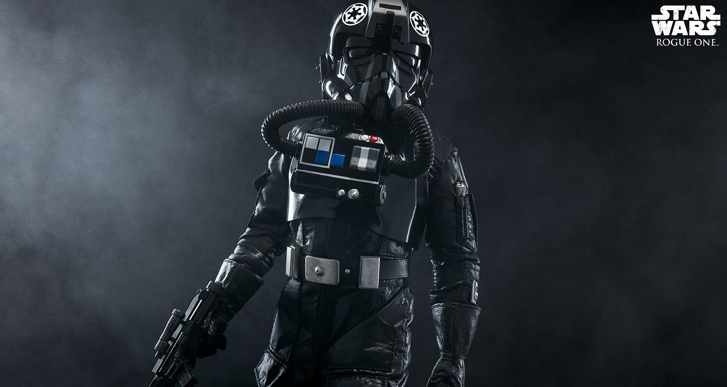 #shortcut: Sideshow Rogue One TIE Fighter Pilot 1/6 Scale