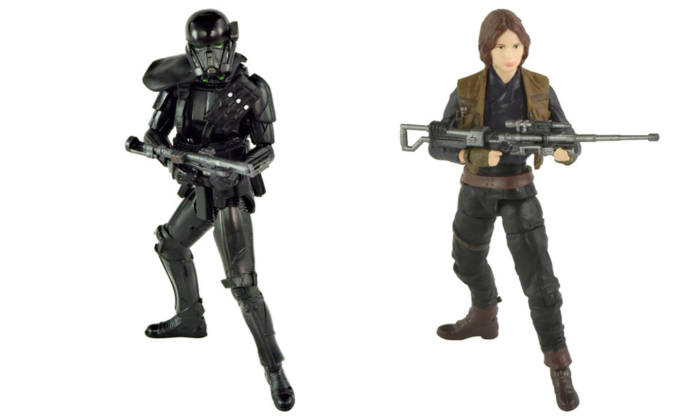 #shortcut: Hasbro Black Series Rogue One 3.75″ Figuren – neue Bilder