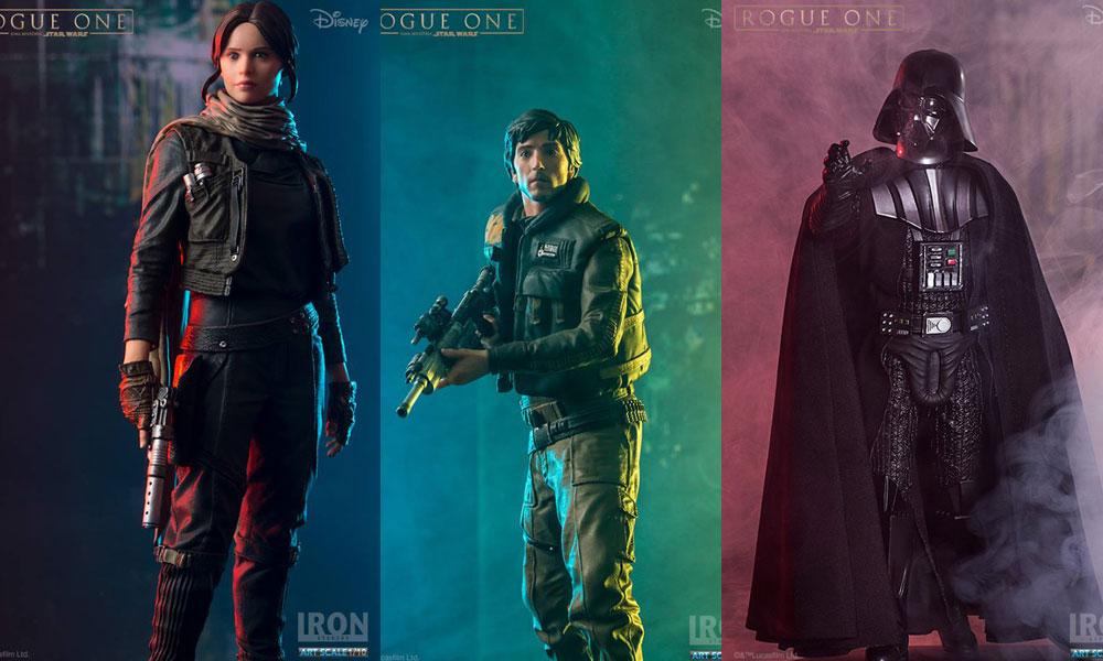Offizielle Bilder der Iron Studios Rogue One Figuren