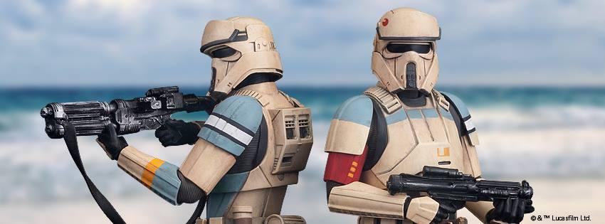 #shortcut: Kotobukiya Scarif Stormtrooper 2-Pack – alle Bilder
