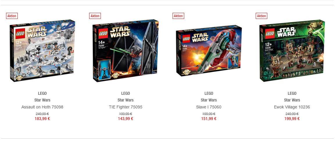 LEGO Star Wars Angebote bei Galeria Kaufhof