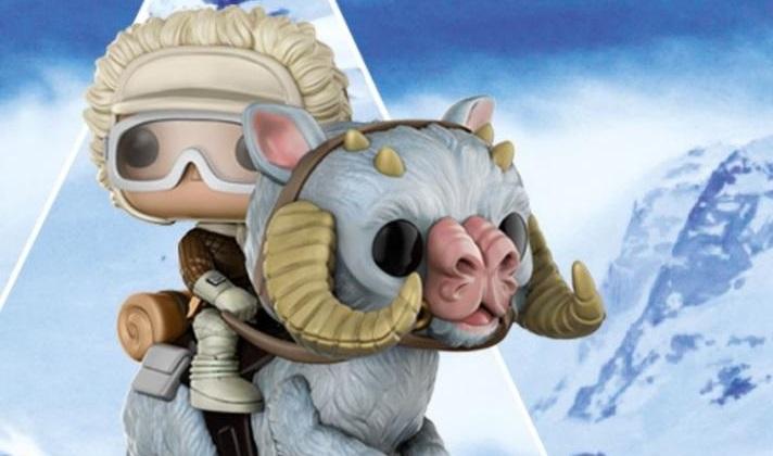 #shortcut: Funko POP! Hoth Han Solo with Tauntaun Wackelkopf