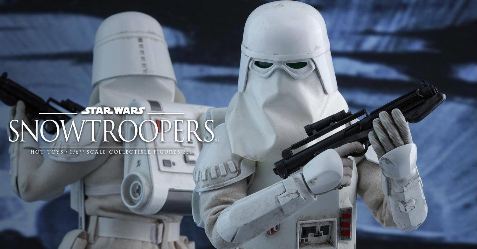 Zwei neue Hot Toys Snowtrooper 1/6 Scale Figuren vorgestellt