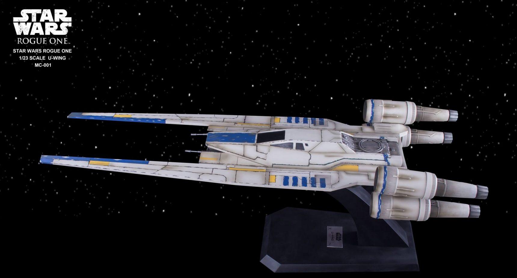Riesiger Beast Kingdom U-Wing Starfighter vorgestellt