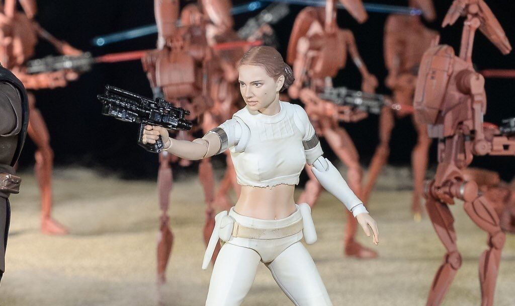 Neue Star Wars S.H.Figuarts ausgestellt