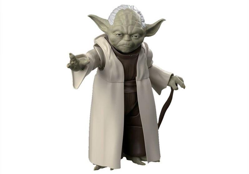 Bandai 1/6 Scale Yoda Model Kit aufgetaucht