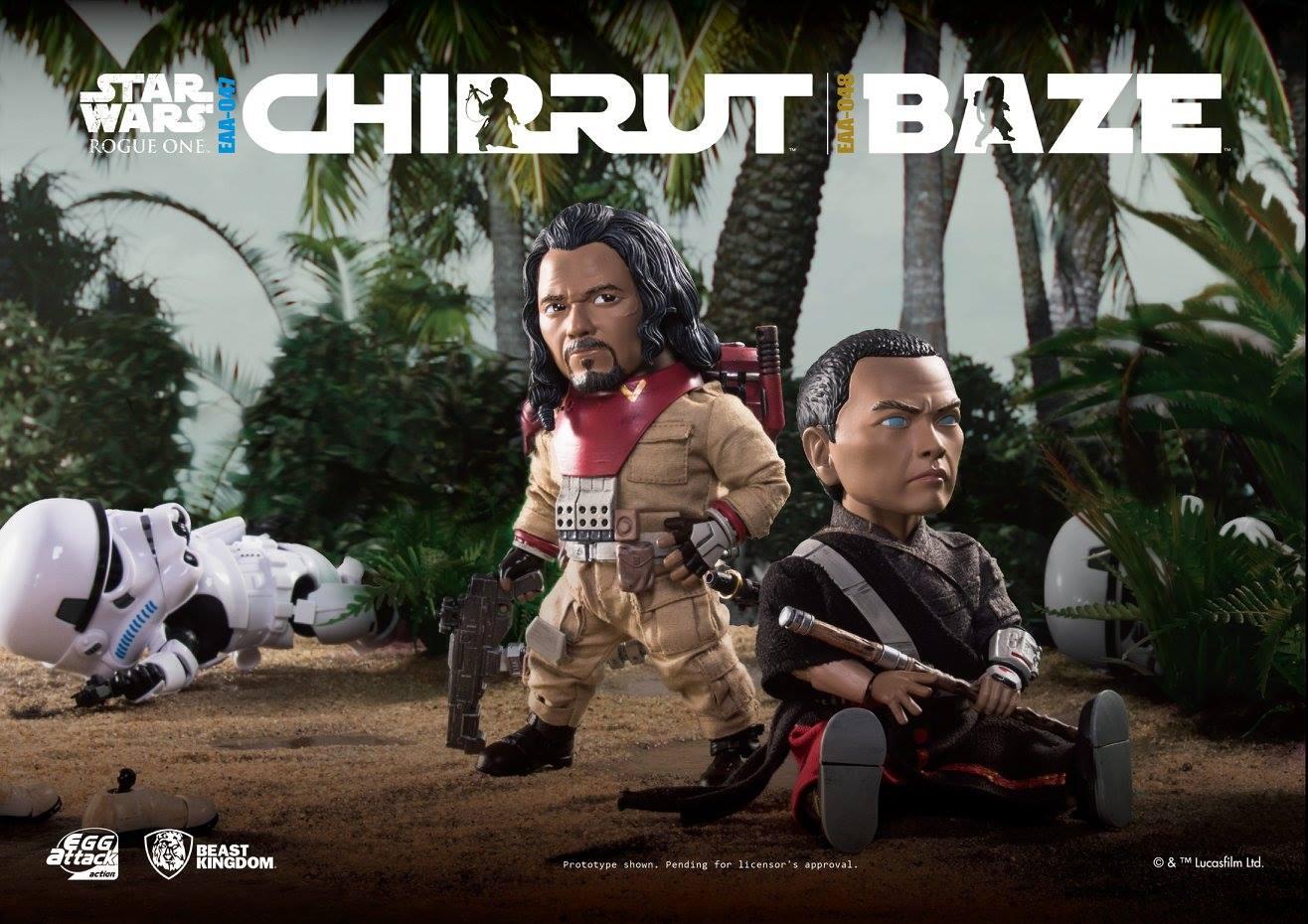 Beast Kingdom Baze Malbus & Chirrut Imwe Figuren veröffentlicht