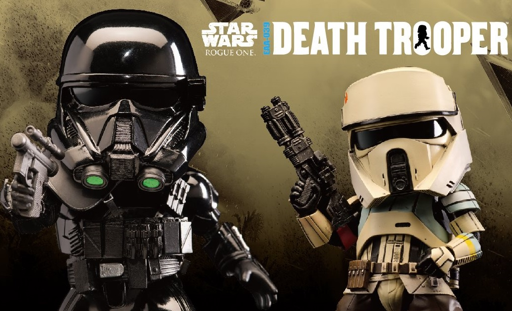 #shortcut: Beast Kingdom Shoretrooper und Death Trooper vorgestellt