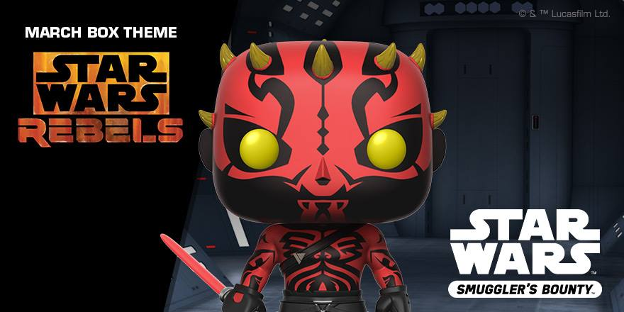 #shortcut: Funko POP! Darth Maul aus Star Wars: Rebels angekündigt