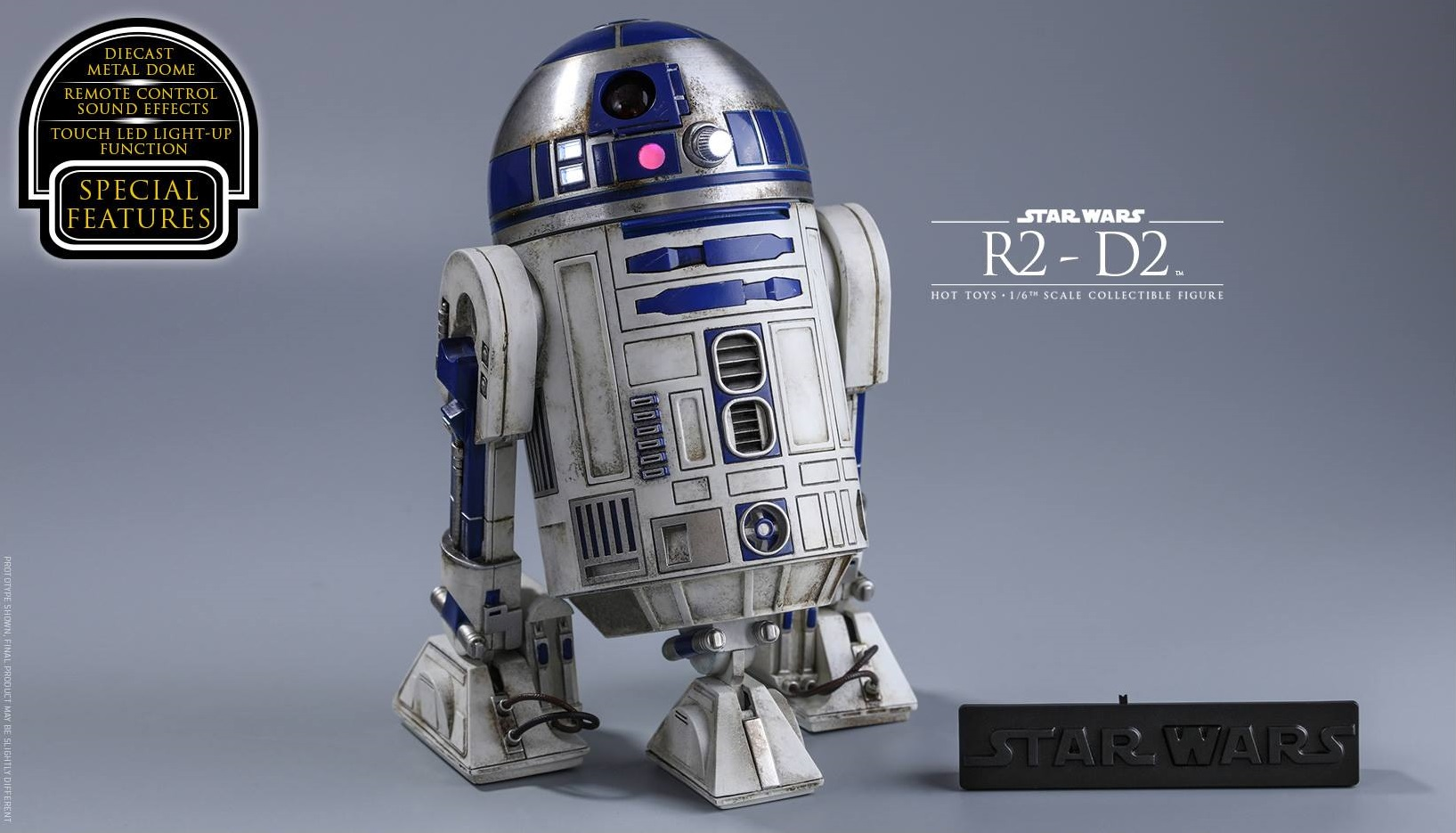 Hot Toys R2-D2 Sixth Scale Figur zu The Force Awakens