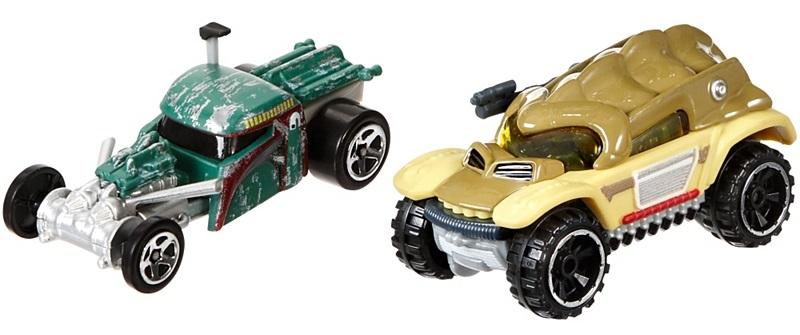 Viele neue Hot Wheels Star Wars Character Cars gefunden