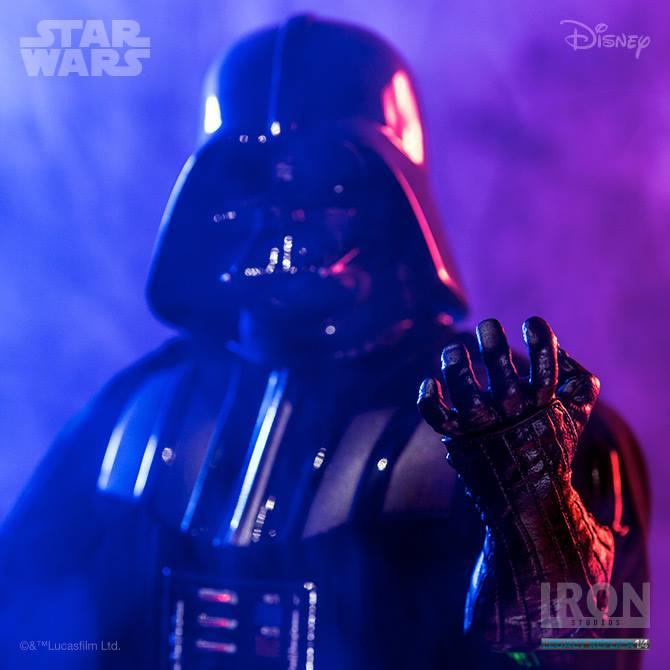Vier neue Iron Studios Star Wars Collectibles