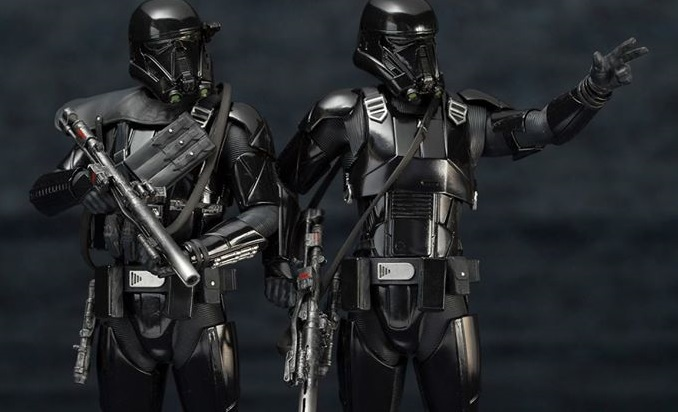 Kotobukiya ArtFX Plus Death Trooper 2-Pack
