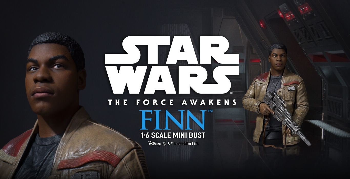 #shortcut: Schicke Gentle Giant Finn Mini-Bust vorgestellt
