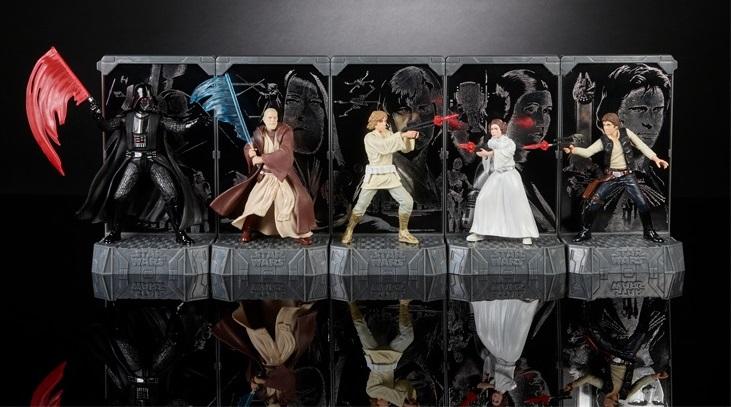 Erster Blick auf Hasbro 40th Anniversary Star Wars Produkte!
