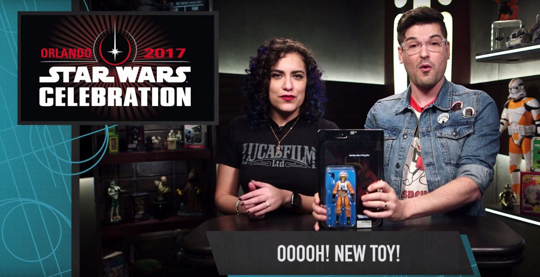 #shortcut: Hasbro Star Wars Celebration Exclusive veröffentlicht!