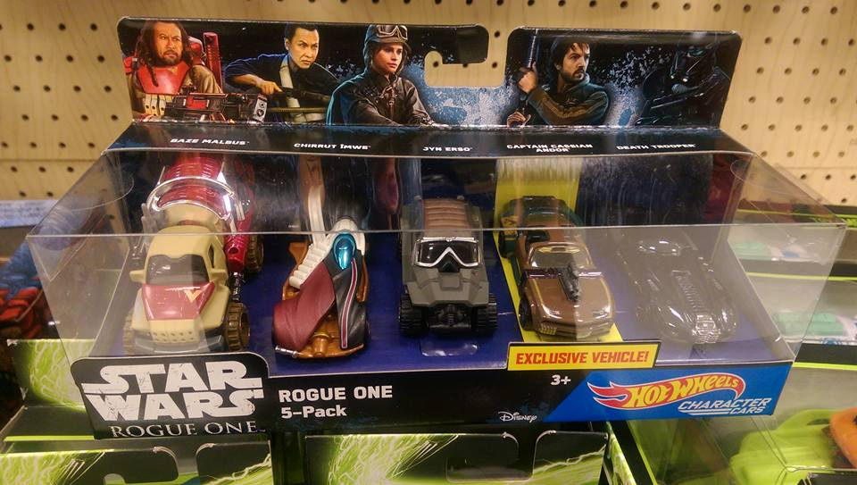 Hot Wheels Rogue One Characters Cars 5-Pack gefunden!