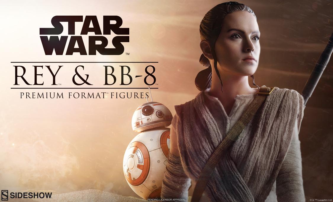 #shortcut: Rey & BB-8 Premium Format Teaser
