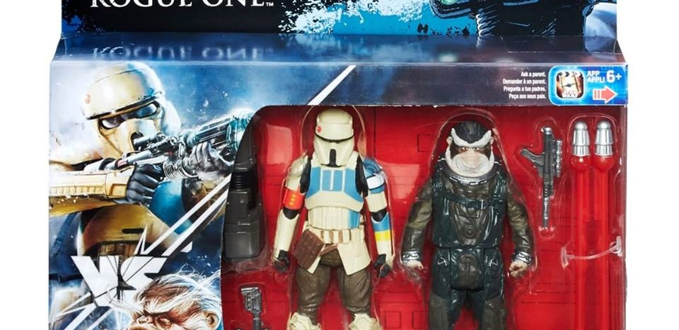#shortcut: Neue Rogue One 3.75 inch Figuren