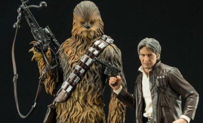 Kotobukiya Han & Chewie aus The Force Awakens offiziell vorgestellt