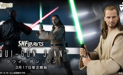 S.H.Figuarts Qui-Gon Jinn offiziell vorgestellt!