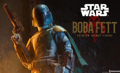 Bereits die dritte Sideshow Boba Fett Premium Format Statue geteasert
