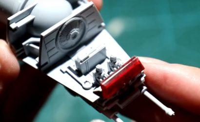 Speed-Build Video zum 1:144 Bandai AT-AT