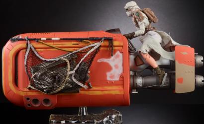 Black Series 6 inch Rey's Speeder veröffentlicht