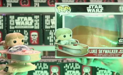 Funko POP! Luke Skywalker with Speeder Deluxe Wackelkopf